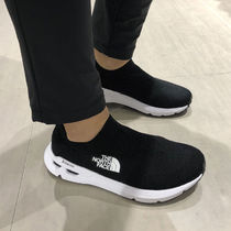 THE NORTH FACE WHITE LABEL Unisex Street Style Plain Dad Sneakers Sock Sneakers Logo
