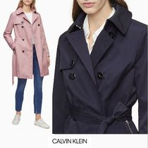 Calvin Klein Casual Style Plain Party Style Office Style Elegant Style