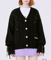 rolarola Cable Knit Casual Style Street Style Long Sleeves Medium