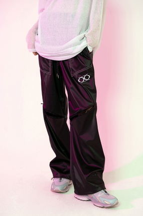Slax Pants Unisex Oversized Overalls Slacks Pants