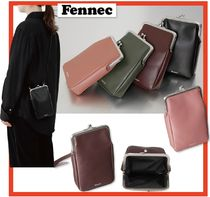 Fennec Casual Style Street Style Leather Shoulder Bags