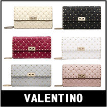 VALENTINO Casual Style 2WAY Plain Crossbody Shoulder Bags