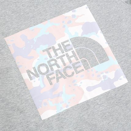 THE NORTH FACE Crew Neck Crew Neck Pullovers Flower Patterns Unisex Street Style 9