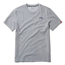 THE NORTH FACE More T-Shirts Unisex Street Style U-Neck Plain Short Sleeves Outdoor 11
