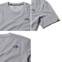 THE NORTH FACE More T-Shirts Unisex Street Style U-Neck Plain Short Sleeves Outdoor 13
