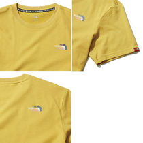 THE NORTH FACE More T-Shirts Unisex Street Style U-Neck Plain Short Sleeves Outdoor 16