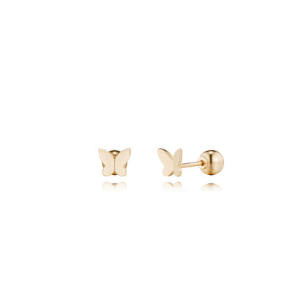 Casual Style Office Style 14K Gold single earring