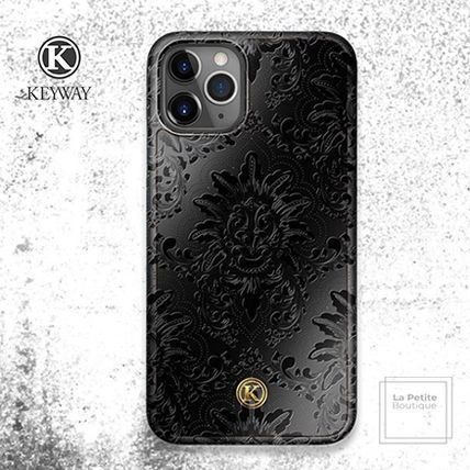 Flower Patterns Unisex Handmade Made of Wood iPhone 8