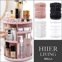 HIIER LIVING Make-up Organizer Clear Furniture Kitchen & Dining Room