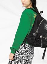 MARC JACOBS Casual Style Plain Logo Backpacks