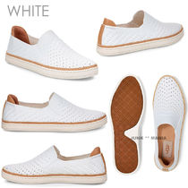 UGG Australia Plain Toe Casual Style Plain Slip-On Shoes