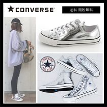 CONVERSE ALL STAR Casual Style Unisex Fur Blended Fabrics Street Style Plain