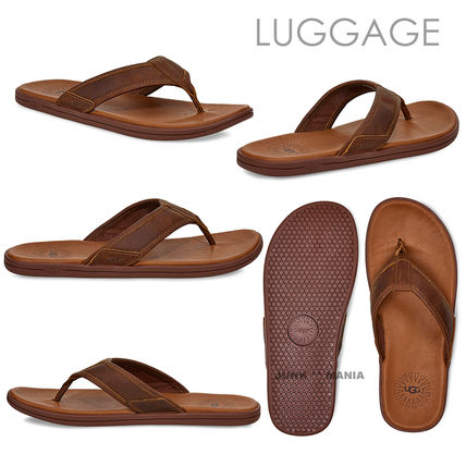 UGG Australia Flipflop Plain Leather Sandals