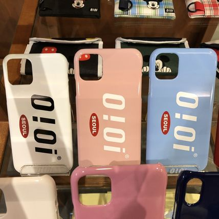 Unisex Street Style Plain Logo Smart Phone Cases