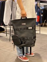 Tommy Hilfiger Casual Style Unisex Street Style Leather Backpacks