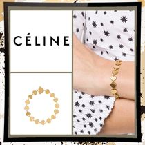 CELINE Casual Style Party Style Brass Office Style Elegant Style