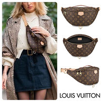Louis Vuitton BUMBAG Casual Style Unisex Canvas Street Style 2WAY Leather