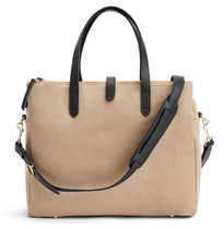 CUYANA Plain Leather Office Style Totes