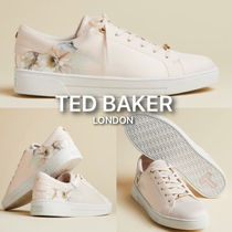 TED BAKER Flower Patterns Casual Style Plain Low-Top Sneakers