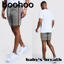 boohoo Other Plaid Patterns Street Style Shorts
