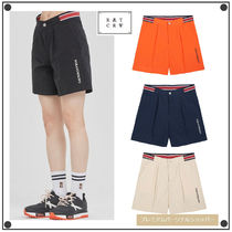 ROMANTIC CROWN Casual Style Unisex Street Style Shorts