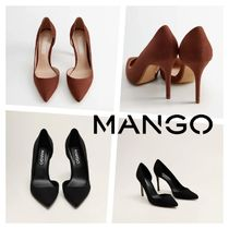 MANGO Casual Style Pin Heels Party Style Elegant Style