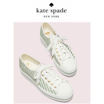 kate spade new york Other Plaid Patterns Casual Style Logo Low-Top Sneakers