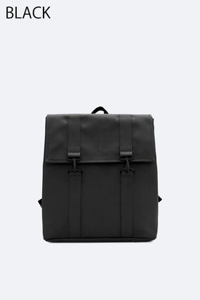 Unisex A4 Plain Backpacks