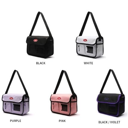 Unisex Street Style Plain Crossbody Logo Hip Packs