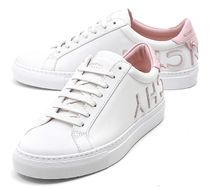 GIVENCHY Plain Toe Rubber Sole Casual Style Street Style Plain