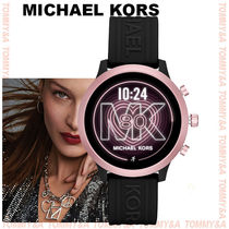 Michael Kors Casual Style Unisex Silicon Round Digital Watches