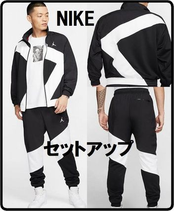 Nike AIR JORDAN Unisex Street Style Co-ord Matching Sets Two-Piece Sets