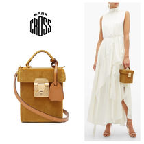 MARK CROSS Casual Style Elegant Style Shoulder Bags