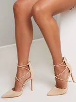 Chi Chi London Casual Style Plain Pin Heels Party Style Elegant Style