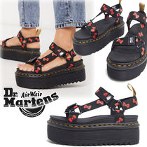 Dr Martens VEGAN Platform Casual Style Collaboration Other Animal Patterns