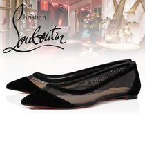 Christian Louboutin Casual Style Elegant Style Pointed Toe Shoes