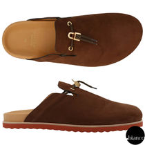 BUSCEMI Suede Street Style Plain Loafers & Slip-ons