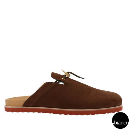 Suede Street Style Plain Loafers & Slip-ons