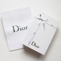 Christian Dior LADY DIOR Leather Small Wallet Coin Cases