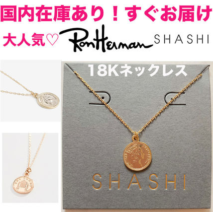 Coin 18K Gold Necklaces & Pendants