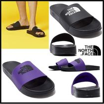 THE NORTH FACE Unisex Street Style Plain Shower Shoes Logo Shower Sandals