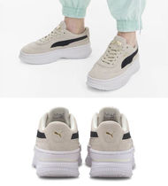 PUMA Suede Street Style Low-Top Sneakers
