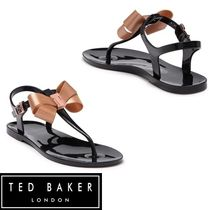 TED BAKER Round Toe Casual Style Street Style Plain Shower Shoes
