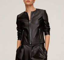 MANGO Leather Biker Jackets