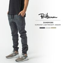 Ron Herman Unisex Street Style Plain Cotton Joggers & Sweatpants