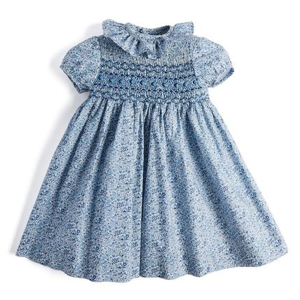 Blended Fabrics Handmade Party Bridal Kids Girl Dresses