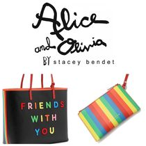 Alice+Olivia Casual Style A4 Office Style Totes