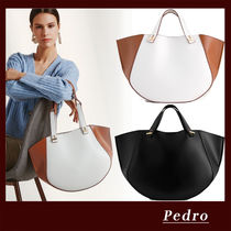 Pedro Casual Style Faux Fur A4 Office Style Elegant Style Handbags
