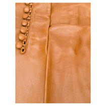 D SQUARED2 Plain Leather Leather & Faux Leather Gloves