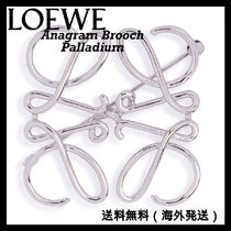 LOEWE Costume Jewelry Casual Style Party Style Brass Office Style